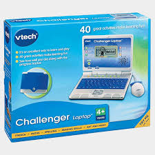 Vtech Challenger Laptop for Toddlers - Blue
