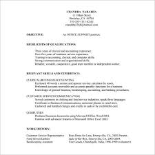 Awesome Collection Of Experienced Customer Service Resume Charming