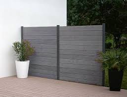 vinyl privacy fence panels are made to