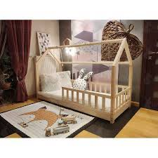 House Bed Bonnie, wooden bed cottage, bed for children, with ...