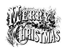 merry christmas card black and white. Brilliant White Merryiconjpg Intended Merry Christmas Card Black And White C