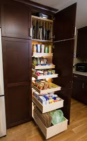 Unfinished Wood Storage Cabinet Kitchen Kitchen Pantry Storage Cabinet With Four Door Pantry In