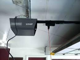 sears garage door opener troubleshooting craftsman 1 2 hp garage door opener troubleshooting
