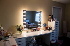 odd diy vanity mirror with lights diy light step by a love affair