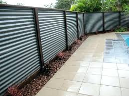 solid metal privacy fence panels metal privacy fence corrugated metal privacy fence idea metal privacy fence