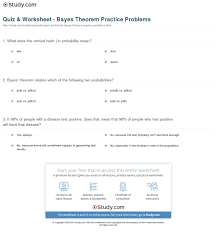 print bayes theorem practice problems worksheet