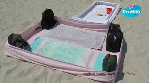 Beach towels on sand Striped Beach Buzzfeed How To Protect Your Beach Towel From The Sand Do It Yourse Youtube