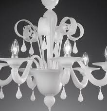 genuine artistic hand blown glass chandelier from the masters of murano by vetrilamp