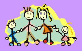 Resultado de imagen de gif de familias