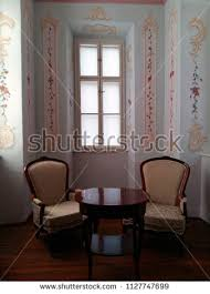 window chair furniture. Interior Of Aged House With Window And Chairs Chair Furniture P
