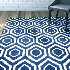 navy blue outdoor rug area