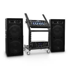 sound system rack. image is loading karaoke-pa-sound-pro-disco-speakers-bluetooth-mixer- sound system rack