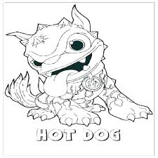 Dachshund Coloring Pages Printable Hot Dog Coloring Page Hot Dog