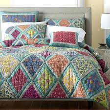 Cotton Patchwork Quilts – boltonphoenixtheatre.com & ... Provence Cotton Patchwork Quilt Set Aliexpress Com American Style 100  Cotton Quilted Handsewn Bohemian Cotton Patchwork ... Adamdwight.com