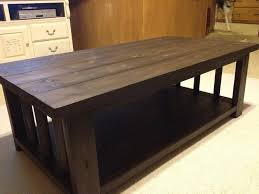 ... Coffee Table, Breathtaking Brown Rectangle Wood Rustic Coffee Table  Plans With Storage Idea For Small ...