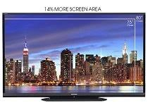 20 percent more viewing area Amazon.com: Sharp LC-80LE650U 80-Inch Aquos HD 1080p 120Hz Smart LED