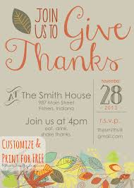 downloadable thanksgiving pictures customizable thanksgiving invitation recipe holiday favorites