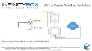 wiring power window switches