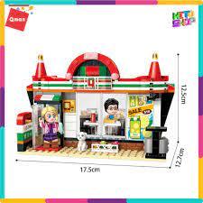 Bộ Đồ Chơi Xếp Hình Thông Minh Lego Qman Tiệm Tạp Hóa 1133 Cho Trẻ Từ 6 Tuổi  319 Mảnh Ghép giá cạnh tranh