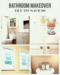 diy bathroom decor makeover the on easy ideas gpfarmasi cbae from
