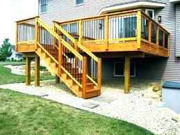 backyard stairs outdoor wood steps backyard ready made stairs prefab wooden outside exterior stair handrails outdoor