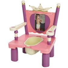 her majesty s throne princess wooden potty chair