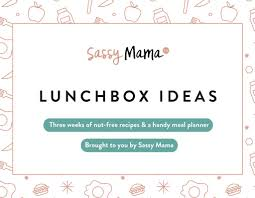 meal planner free kids lunchbox recipes 3 week meal planner free downloadable