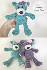 Easy Crochet Teddy Bear Pattern Magnificent Decoration
