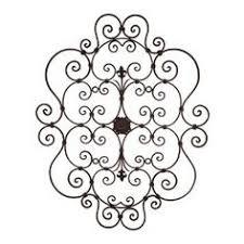 Small Picture Charming Ideas Metal Scroll Wall Decor Impressive Design Black