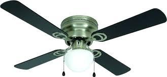 bay flush mount ceiling fan hampton 12 led