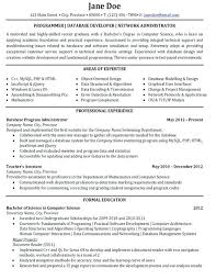 oracle dba resume for 4 year experience database administrator ...