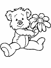 Bear Flowers Butterfly And Flower Bear And Tulip Bear And Daisy Free