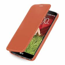 Flip Cover for LG G2 mini LTE - Orange ...