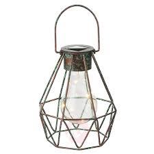 Led Dekosolarleuchte Cage Zum Stellen Und Hängen Kaufen Lampenweltde