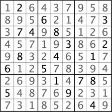 Sudoku Puzzel Solver Example Puzzles And Solutions