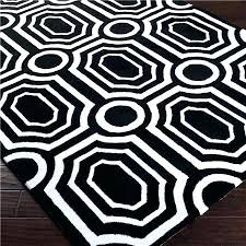 3x5 black outdoor rug and white area rugs mod geometric tufted striped