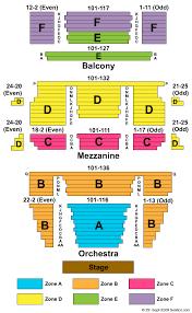 Emerson Majestic Seating Chart 2019