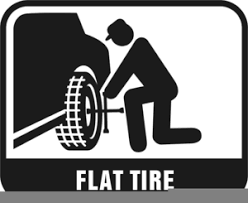 flat tires clipart. Beautiful Flat Free Clipart Flat Tire Image With Tires T