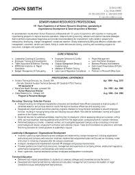 talent acquisition resume sample resume format for hr executive click here  to download this senior hr