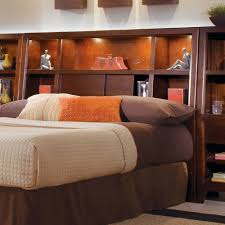 Bookcase Bedroom Furniture King Bookcase Headboard Stoney Creek Design