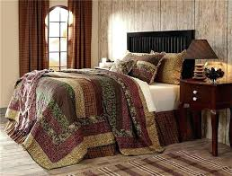 quilt olive green bed set post