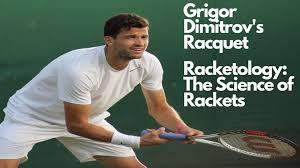 Grigor dimitrov smashed three rackets on his way to losing the istanbul open final to diego schwartzman. The Grigor Dimitrov Racquet Wilson Pro 97s Racketology
