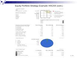 Day 2 Equity Analysis And Portfolio Strategies