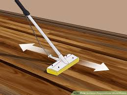 image led clean polyurethane wood floors step 7