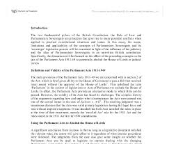 parliamentary sovereignty uk essay edu essay