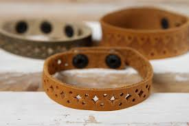 leather bracelets unusual handmade leather bracelet leather goods uni jewelry handmade gifts madeheart com