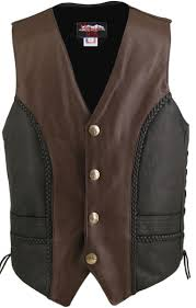 leather vest custom tap to expand