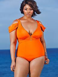 Designer Plus Size Swimwear
