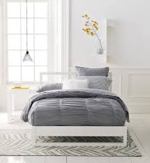 elegant gray duvet cover for impressive bedroom gray duvet cover combine with plantation blinds also