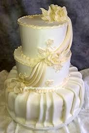 Fondant Wedding Cakes Tiffanys Bakery